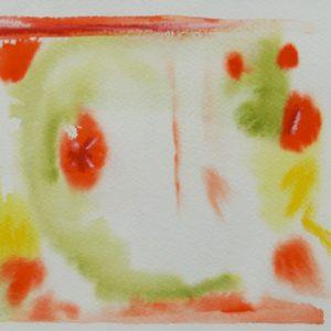 A_2017_05 - 26,5 x 18 cm - Technique : aquarelle, craie