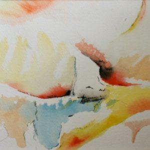 A_2017_09 - 29 x  20 cm - Technique : aquarelle, craie, encre