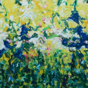 P_2017_01 - 116 x 89 cm - Technique : huile sur toile