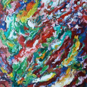 P_2017_02 - 81 x 65 cm - Technique : huile sur toile