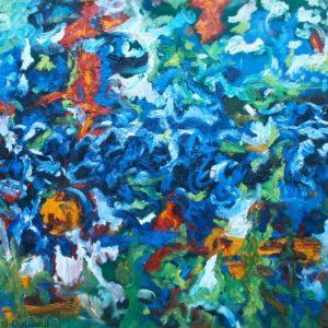 P_2017_05 - 100 x 81 cm - Technique : huile sur toile