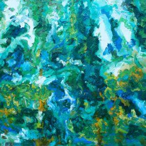 P_2017_12 - 81 x 65 cm - Technique : huile sur toile
