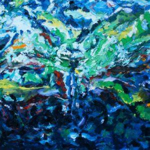 P_2017_13 - 81 x 60 cm - Technique : huile sur toile