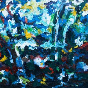 P_2017_14 - 81 x 60 cm - Technique : huile sur toile