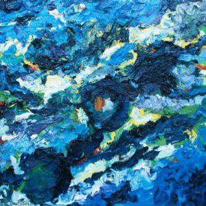 P_2017_21 - 61 x 50 cm - Technique : huile sur toile