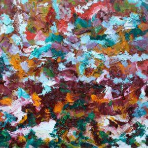P_2017_23 - 55 x 46 cm - Technique : huile sur toile