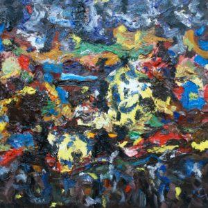 P_2017_25 - 65 x 54 cm - Technique : huile sur toile