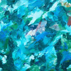 P_2017_31 - 41 x 33 cm - Technique : huile sur toile