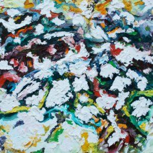 P_2017_32 - 61 x 50 cm - Technique : huile sur toile