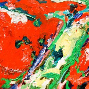 P_2017_35 - 46 x 38 cm - Technique : huile sur toile