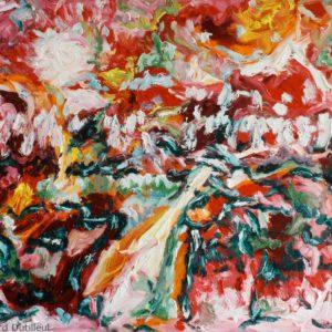 P_2018_01 - 81 x 65 cm - Technique : huile sur toile