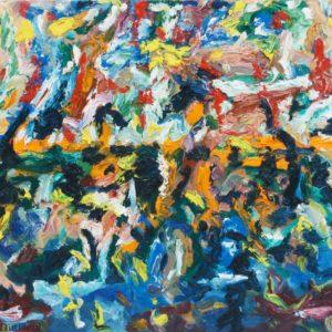 P_2018_02 - 81 x 60 cm - Technique : huile sur toile