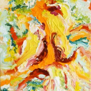 P_2018_08 - 46 x 38 cm - Technique : huile sur toile