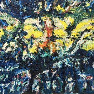 P_2018_09 - 100 x 81 cm - Technique : huile sur toile