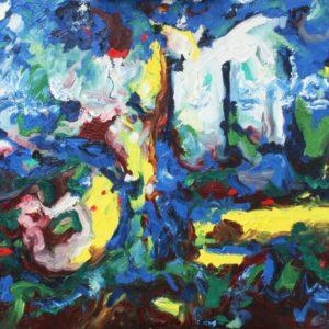 P_2018_12 - 81 x 65 cm - Technique : huile sur toile
