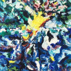 P_2018_17 - 61 x 50 cm - Technique : huile sur toile