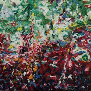 huile sur toile 116 x 89