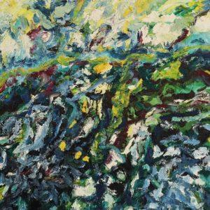 huile sur toile 100 x 81