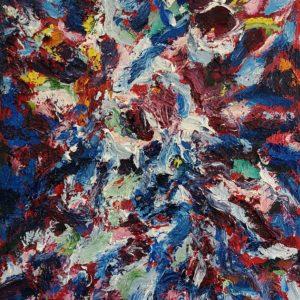 huile sur toile 46 x 38