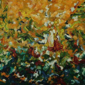 huile sur toile 73 x 60